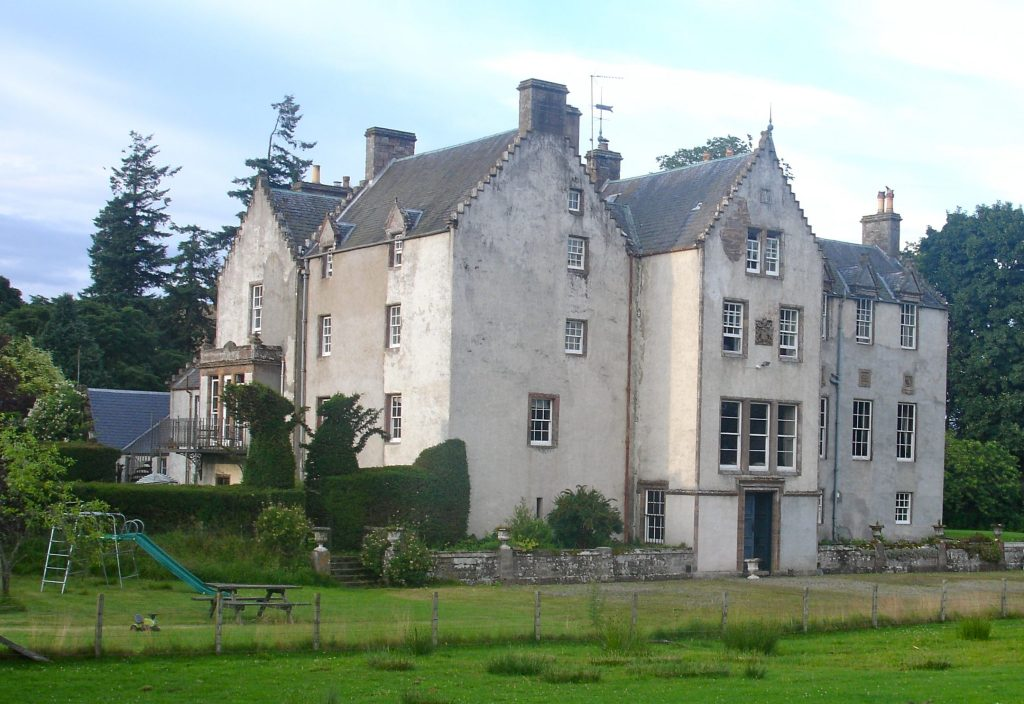 Bamff castle and eco estate, Perthshire