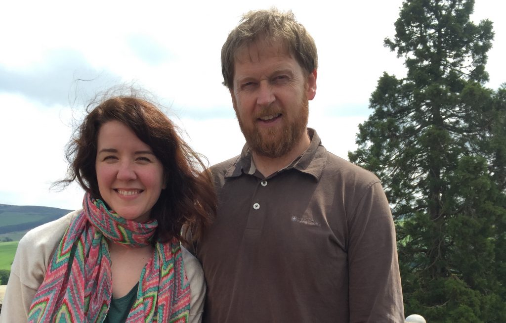 Malcolm Handoll and Rachel DuBois of Five Senses