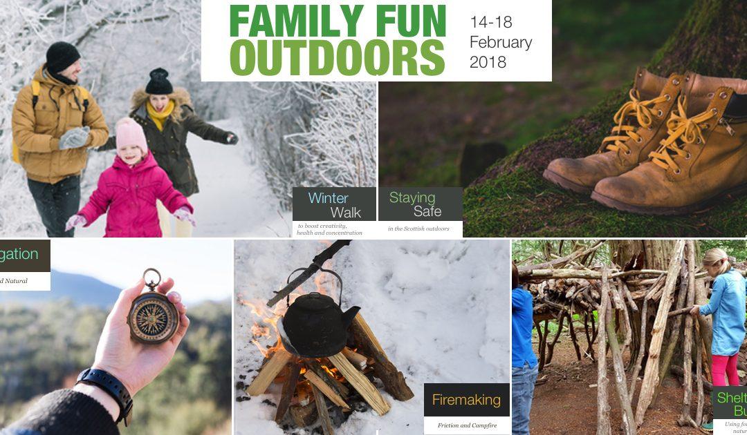 Family Fun Outdoors Week: 14-18 February 2018