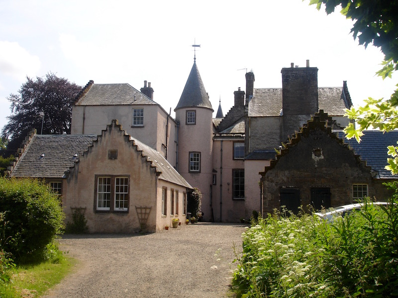 Bamff House in summer